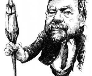 Dnes aktuálne český humorista Jiří Srna
