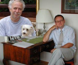 Dnes aktuálne spisovateľ, humorista a náš dopisovateľ Pavol Janík