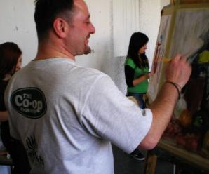 Dnes aktuálne nezávislý komiksový tvorca, ilustrátor a karikaturista Ivo Chadžiev z Podbrezovej