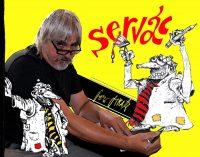 Dnes slovenský karikaturista, autor komiksov František Mráz
